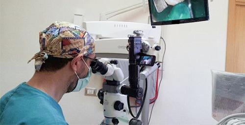 Studio Dentistico Dr Franco Milaneschi | Microscopio